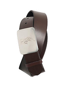 Pony Plaque Belt