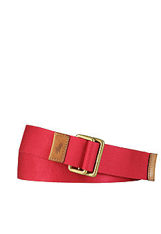 Polo Ralph Lauren Solid Cotton Webbed Belt