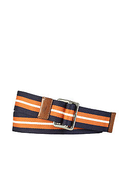 Polo Ralph Lauren Striped Cotton Webbed Belt