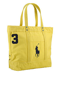 Polo Ralph Lauren Big Pony Canvas Tote