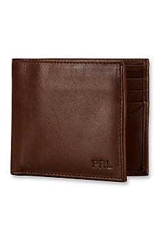 Polo Ralph Lauren Leather Window Billfold Wallet