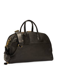 Polo Ralph Lauren Leather Sports Carryall