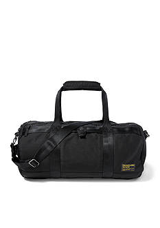 Lauren Ralph Lauren Leathergoods Military Nylon Duffel Bag