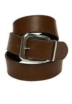 Lauren Ralph Lauren Leathergoods Reversible Belt w/ Mitered Buckle
