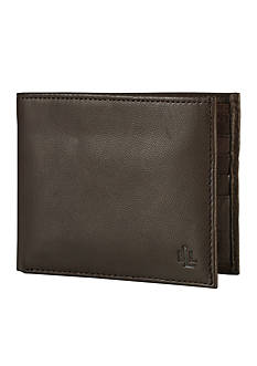 Lauren Ralph Lauren Leathergoods Brown Burnished Passcase