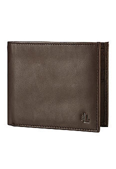 Lauren Ralph Lauren Leathergoods Brown Burnished BiFold