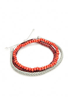 Madison Darby Red Wooden Bracelet