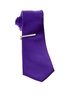Slim Tie with Tie Bar