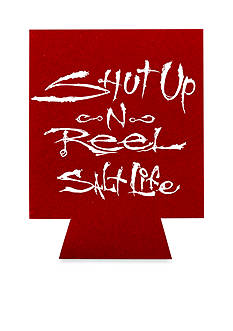 Salt Life Shut Up and Reel Can Koozie