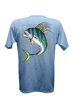 Salt Life Rooster Fish Tribe Tee