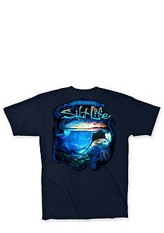Salt Life Shipwrecked Tee