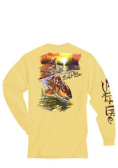 Salt Life Bulldozing Redfish Tee