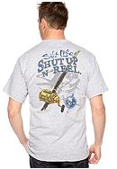 Salt Life Shut Up & Reel Tee