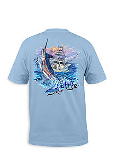 Salt Life Short Sleeve Blue Storm Tee