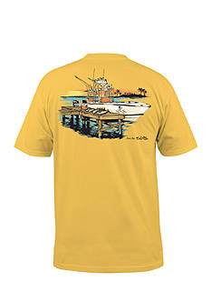 Salt Life Short Sleeve Dock and Unload Tee