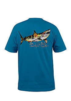 Salt Life Great White Hawaiian Tee