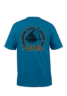 Salt Life Chasing Tail Short Sleeve Graphic Pocket Tee