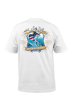 Salt Life Short Sleeve American Billfish Graphic Pocket Tee
