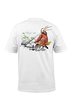 Salt Life Short Sleeve Hogfish Wreck Graphic Tee