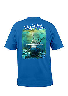 Salt Life Short Sleeve Hammerhead Graphic Pocket Tee