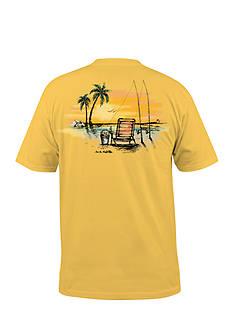 Salt Life Short Sleeve Beach Fishin' Graphic Tee