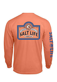 Salt Life Long Sleeve Pocket Brew Company Graphic Tee