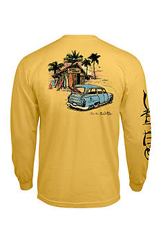 Salt Life Long Sleeve Board Shack Pocket Tee