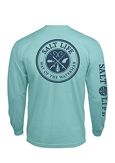 Salt Life Long Sleeve Way Of The Waterman Pocket Tee
