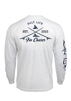 Salt Life Long Sleeve Fin Chaser Graphic Tee