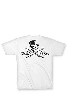 Salt Life Skull & Poles Graphic Tee