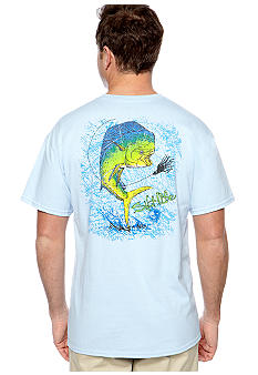 Salt Life Mahi Map Tee