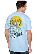 Salt Life Sailfish Scenic Tee