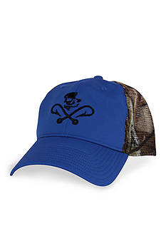 Salt Life Skulls and Hooks Camo Hat