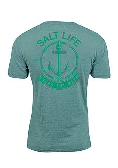 Salt Life Seas The Day Short Sleeve Graphic Tee