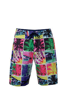 Salt Life Trippy Fish Board Shorts