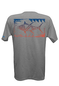 Salt Life Tribal Fish SLX Performance Short Sleeve Tee