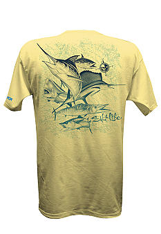 Salt Life Deep Sea Fade SLX Performance Tee