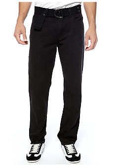 Iron Slim Fit Belted Trouser