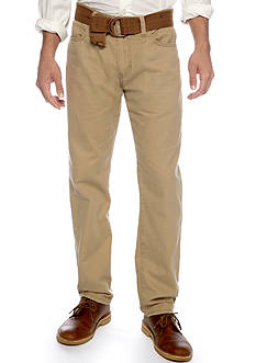 Plugg™ Slim Fit Flat Front Pants