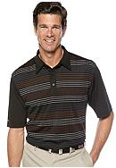 Greg Norman® Collection Edo Texture Multi Stripe Polo