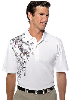 Greg Norman Collection Kita Print Polo