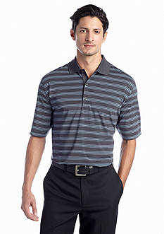 Greg Norman® Collection Voyager Multi Stripe Polo ML75 Stretch