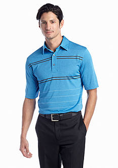 Greg Norman® Collection Engineered Double Striped Polo