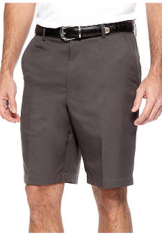 Greg Norman Collection Flat Front Microfiber Shorts