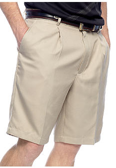 Greg Norman® Collection Pleated Mini Check Shorts