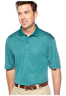 Greg Norman Collection Fine Line Stripe Polo
