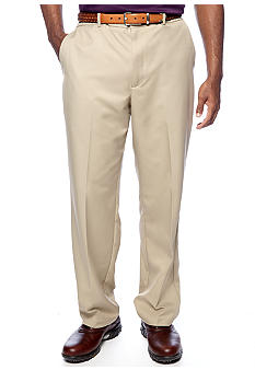 Greg Norman Collection Flat Front Microfiber Pants