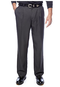 Greg Norman® Collection Single Pleated Check Pants