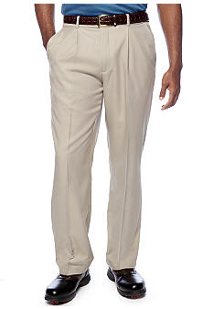 Greg Norman Collection Single Pleated Check Pants