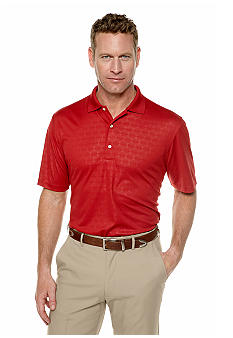 Greg Norman Collection Royal Embossed Polo